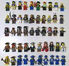 LEGO Lot 50 Minifigs Pirates Jack Sparrow Tonto Cowboys Soldiers Red Harrington