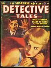 DETECTIVE TALES 1952 FEB GGA COVER GREAT PULP very good VG