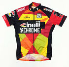 2015 Cinelli Chrome Cycling Jersey Made in Italy by Santini