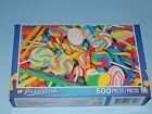New 500pc Jigsaw Puzzle Puzzlebug Gift Hobby Indoor Activity Candy - Lollipops