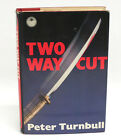 Two Way Cut by Peter Turnbull Glasgow Crime Novel 1988 First Edition
