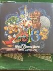 Disney 2016 Sorcerer Mickey And Friends Autograph Book And Pen New