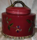TRACY PORTER OCTAVIA HILL GARDEN MEDIUM CANISTER 7 3/8