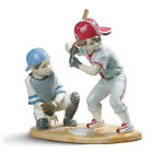 LLADRO #8797 BASEBALL PLAYERS BRAND NEW IN BOX SPORTS BATTER CATCHER SAVE$$ F/SH