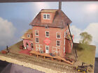 HO 1:87 BUILT Model Building Diorama REA RAILROAD STATION with BASE