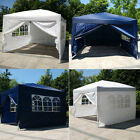 'X10' EZ POP UP Tent Gazebo Wedding Party Canopy Shelter Carry Bag New