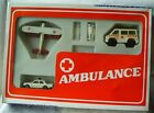 Lot set 3 metal Cars Matchbox Mecedes 450 SEL helicopter Ambulance Bulgaria
