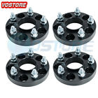 4X 25mm 1 5x45 Hubcentric Wheel Spacers fits Nissan 300SX 350Z Infiniti G35