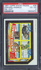 1967 Topps Wacky Packages Die-Cut #38 Cracked Animals PSA 4