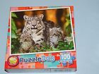 New 100pc Jigsaw Puzzle Puzzlebug Gift Hobby Indoor Activity Snow Leopard Mom