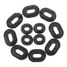 12 Rubber Grommets Fairing Washer for Honda CB CL XL 100 CG125 CB125S CB125T