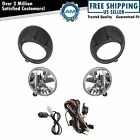 Add On Upgrade Clear Lens Fog Light Bulb Switch Wiring Kit Set for Camaro New