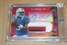 EJ MANUEL 2013 Topps Finest 3 Color Patch RC Auto #3 10 HIS JERSEY #!! Bills