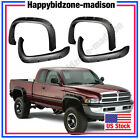 1994-2002 Dodge Ram 1500 2500 3500 Pocket Style Black Rivet Fender Flares 94-01