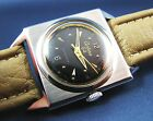 Vintage Certina Stainless Steel Automatic Display Back Mens Watch 17j Swiss 1960