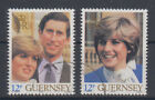 Guernsey Lady Diana and Price Charles 1981 USED