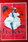 FRENCH CANCAN MARIA FELIX JEAN RENOIR 1954 FRANCOISE ARNOUL EXYU MOVIE POSTER