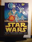 Rare Vintage TOPPS 1977 Star Wars Series 2 Box 36 Packs Factory Sealed Red Bord