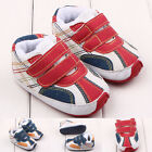 Toddler Baby Boys Multicolor Faux Leather First Shoes Sneakers Prewalker DB2236