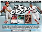 2014 Topps Chrome Baseball Hobby Box Factory Sealed 2 Autographs Per Box ABREU
