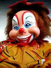 Rushton Toy Company Plush Doll Stuffed Animal - Laughing Clown 50s - rubber face