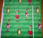 How The Grinch Stole Christmas  Fleece  Fabric by the yard bty