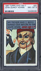 1967 Topps Who Am I? #20 John Quincy Adams PSA 8 Unscratched