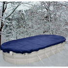 12x24 Oval Above Ground Winter Swimming Pool Solid Cover 15 Yr Warranty solid