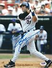 Signed 8x10 MIKE PIAZZA NEW YORK METS Autographed photo - PSA DNA