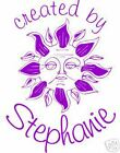 UNMOUNTED PERSONALIZED CREATED BY SUN RUBBER STAMPS