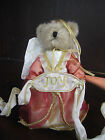 BOYDS Fashion Family JOY ANGELBLESS plush BEAR Tree Topper NEW w tag 4014678