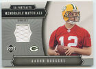 AARON RODGERS 2005 UD PORTRAITS MEMORABLE MATERIALS PACKERS ROOKIE JERSEY