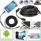 35 5M 7mm Android Endoscope Waterproof Borescope USB Inspection Camera 6 LED
