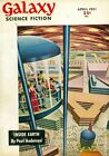 Galaxy Science Fiction 1950 pulp digest Volume 2 Issue 1 VG 40 LOW GRADE
