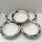 8-Fritz & Floyd COUNTRY CUPBOARD Soup/Cereal Bowls