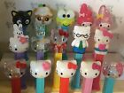 PEZ Hello Kitty Series  -  Choose Character - Use for Crafts