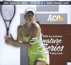 2005 Ace Authentic Signature Series Tennis Box