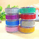 Self Adhesive Rhinestones Crystal Tape Scrapbooking Paper Crafts Glitter Sticker