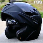 Motorcycle Dual Visor Flip up Modular Motocross Full Face Helmet  M L XL Size