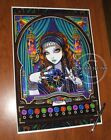 Gypsy Astrology Fortune Teller Machine Zodiac Myka 13x19 inch Print Signed