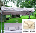 New Outdoor Swing Canopy Replacement Porch Top Cover Seat Patio 75x52