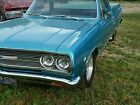 1965 chevelle el camino prostreet parts car project car back halfed salvage bbc
