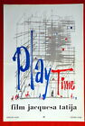 PLAYTIME PLAY TIME VIDA MODERNA JACQUES TATI 1967 UNIQUE RARE EXYU MOVIE POSTER
