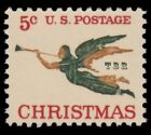 1276a Christmas Angel with Trumpet 1965 Experimental Tagged Issue MNH Buy Now
