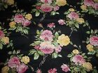 LEADING LADIES pink ROSES flowers Ro Gregg NORTHCOTT cotton quilt FABRIC 1 yd