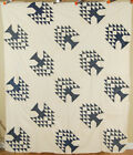 White Tree of Life Antique Quilt Top ~MINT!