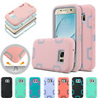 For Samsung Galaxy S7 Hybrid Rubber Shockproof Heavy Duty Hard Case Cover