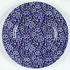 Queens CALICO BLUE (MALAYSIA) Dinner Plate 6135088