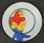Fitz & Floyd Parrot In Ring Salad Dessert Side Plate 1979 EUC