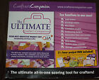 The Ultimate Crafters Companion Envelopes Card  Bow Maker Free Shippng